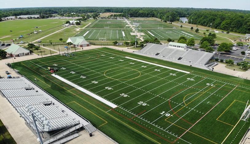 Artificial Turf Sports field