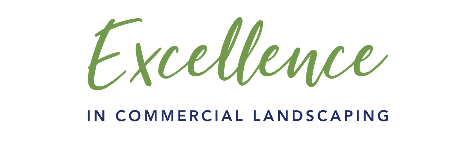 excellence in commercial landscaping