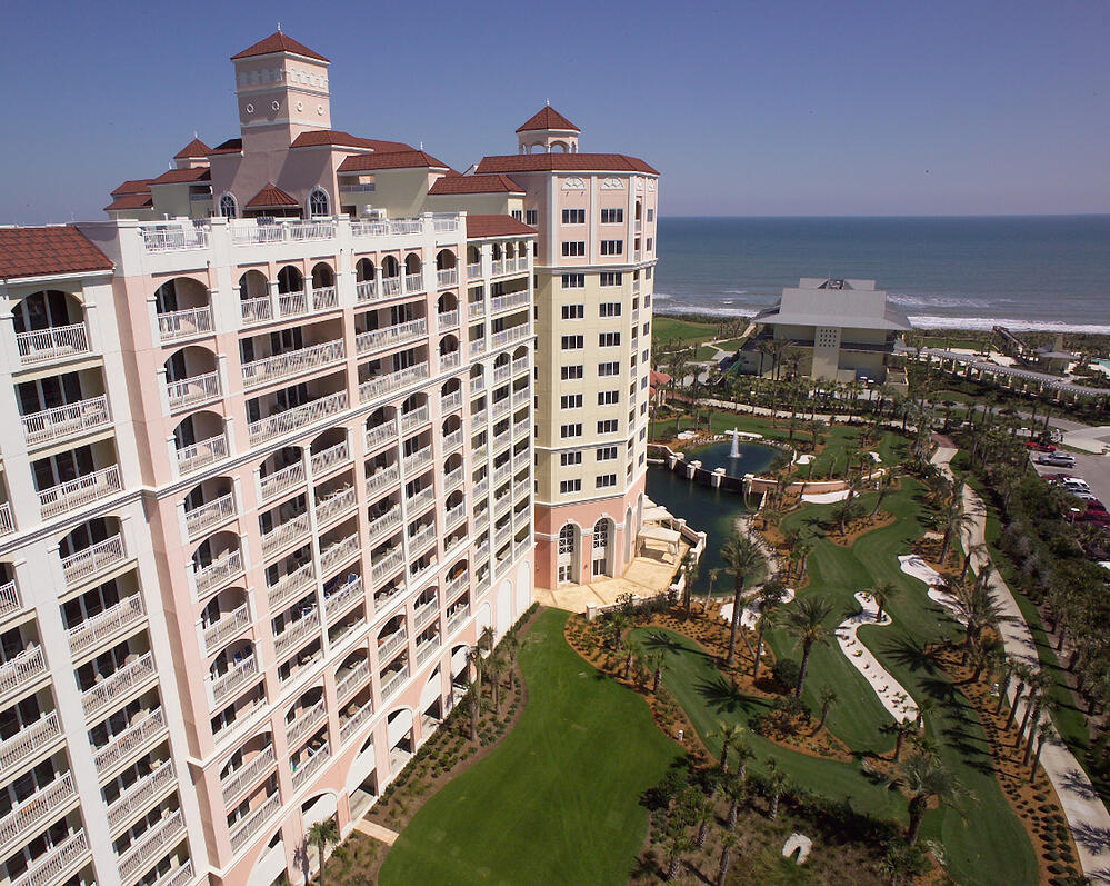 Hammock Beach resort aerial view