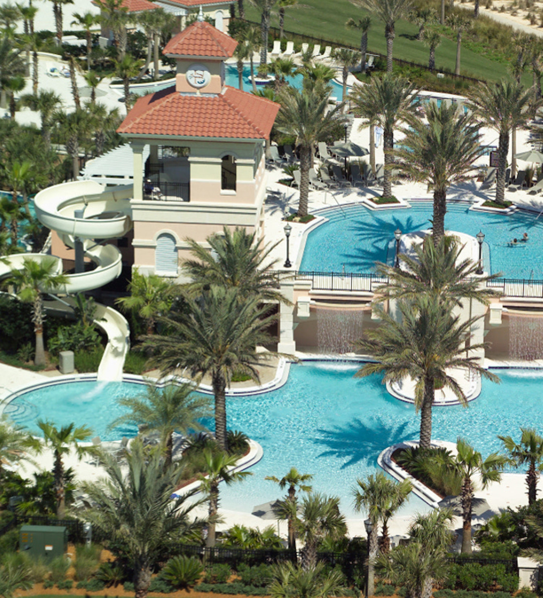 Hammock Beach resort pools