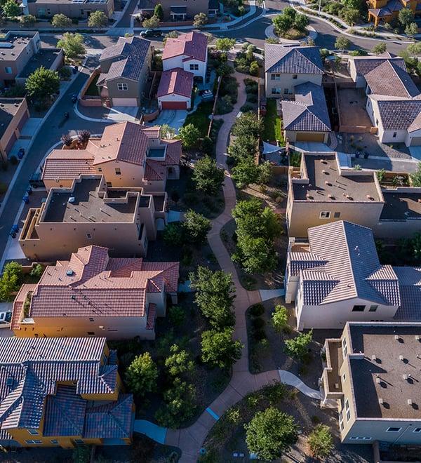 Houses in an HOA