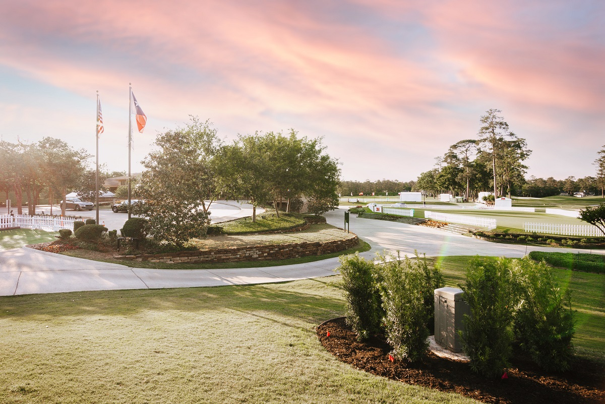 Woodlands Country Club landscape