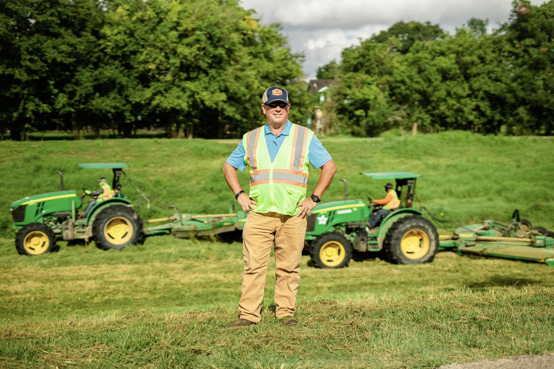 commercial mowing operations manager