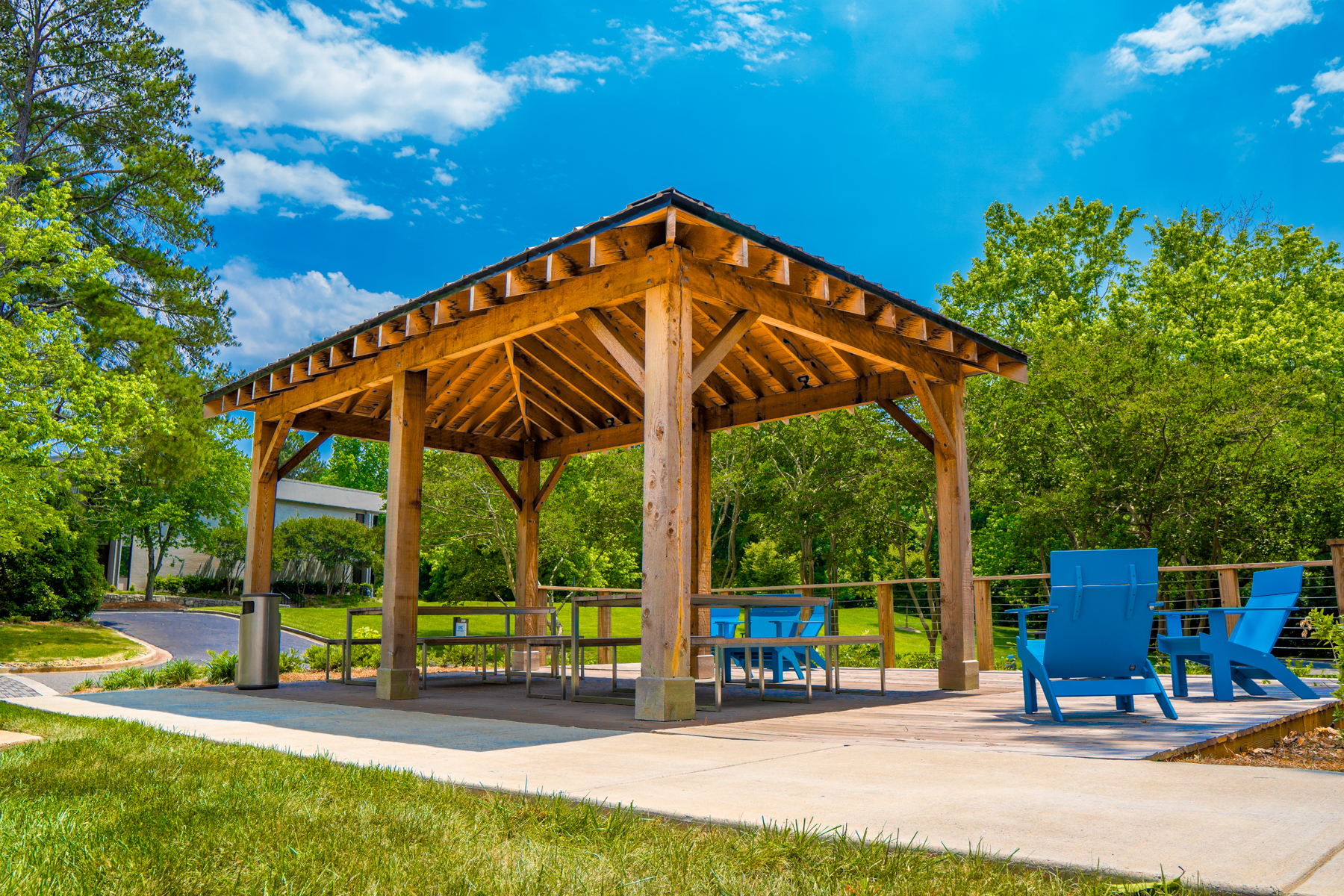 Commercial landscaping enhancements and maintenance
