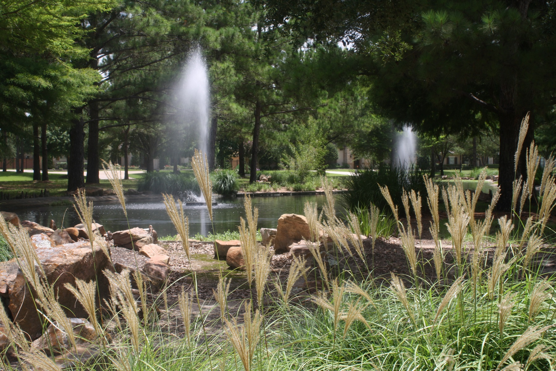 Cinco Ranch Water Feature